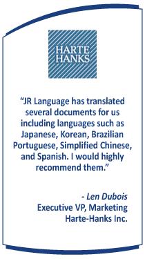 Multilingual Translation Testimonial