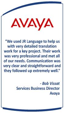 Technical Translation Service Testimonial